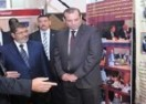 President Morsi Visits CEOSS Pavilion in the First NGOs Forum